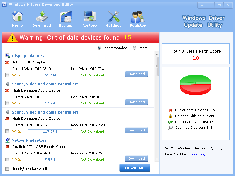 download driver updater for windows 7